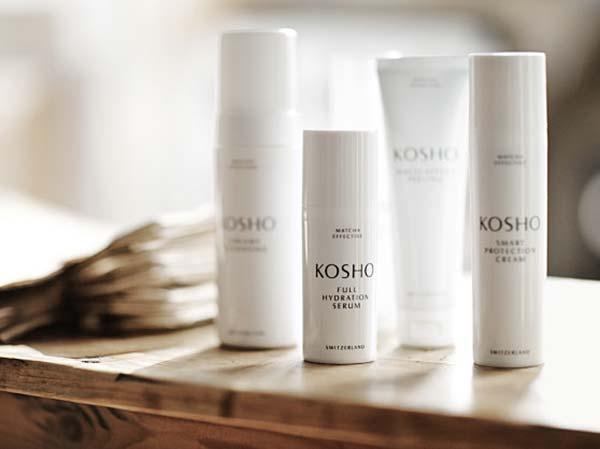 tendances cosmétique beauthé kosho matcha