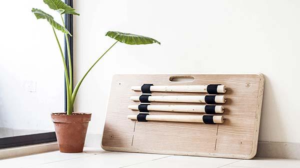 tendances design nomade table Tebur de Nifemi Marcus-Bello