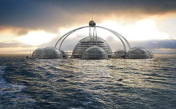 tendances futurs ville flottante Subiosphère 2