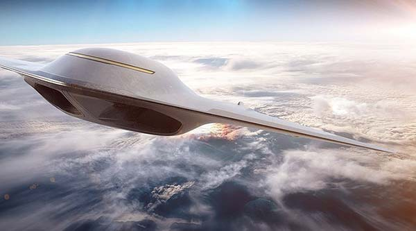 Tendances futurs supersoniques Paradoxal Bombardier