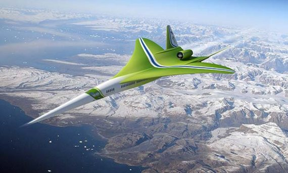 tendances futurs supersonique Lockheed Martin-Nasa