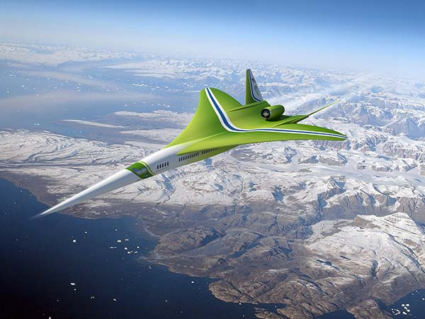 tendances futurs supersonique Lockheed Martin-Nasa