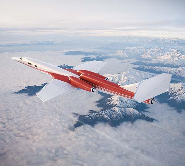 Tendances futurs supersoniques Aerion Airbus