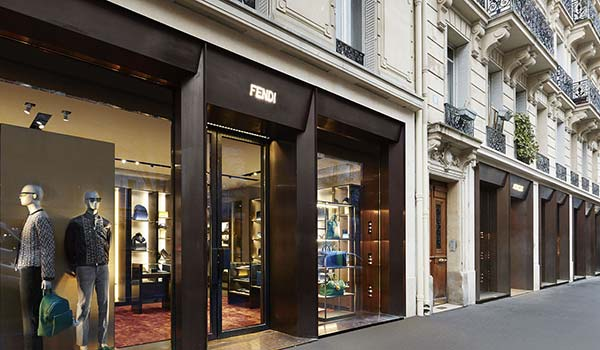 Tendances luxe rue des archives Fendi