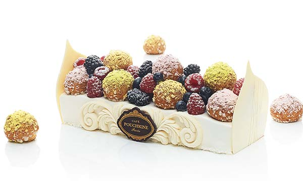 Tendances pâtisserie luxe Pouchkine