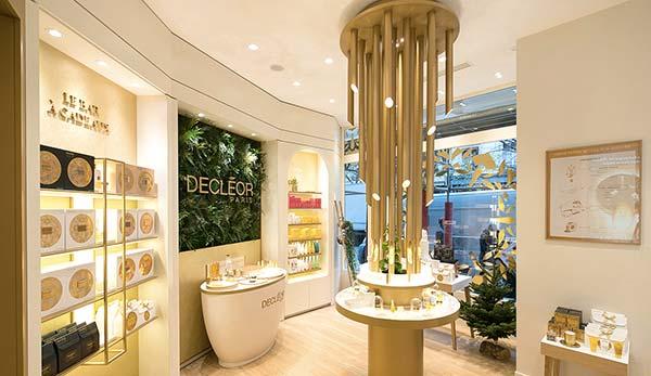 tendances beauté boutique physique Decléor
