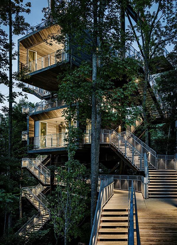 Tendances design maison dans les arbres Boys Scouts of America