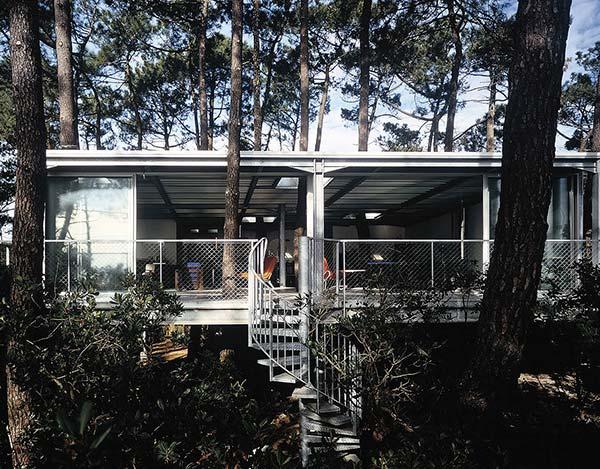 tendances design maison dans les arbres Lacaton & Vassal