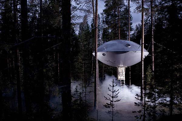 Tendances design maison dans les arbres treehotel