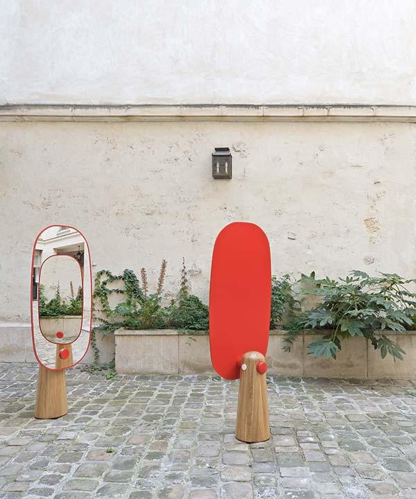 tendances design miroir Yeffet et Koldova