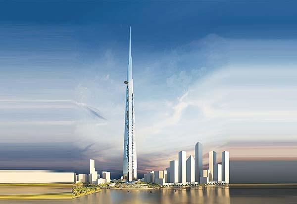 tendances futurs gratte ciel Kingdom Tower