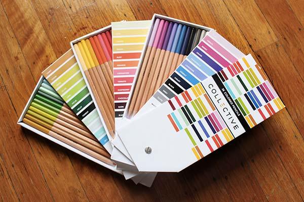 tendances packaging pantone crayons