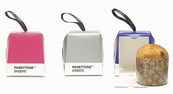 tendances packaging pantone panettone Pantone