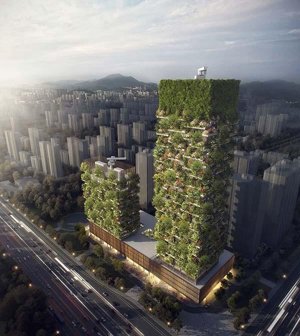 tendances futur ville forêt nanjing
