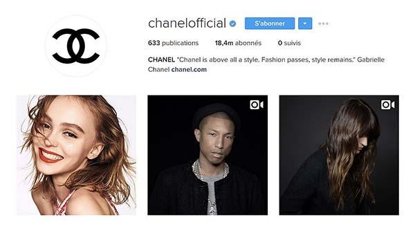 tendances luxe instagram chanel