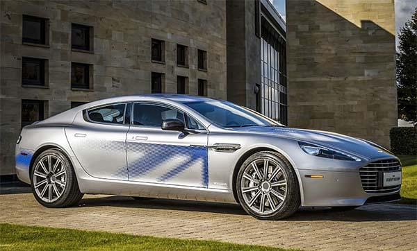 Luxe voitures électriques  Aston Martin Rapide