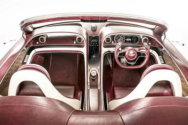 Luxe voitures électriques  Bentley EXP 12 Speed 6e.