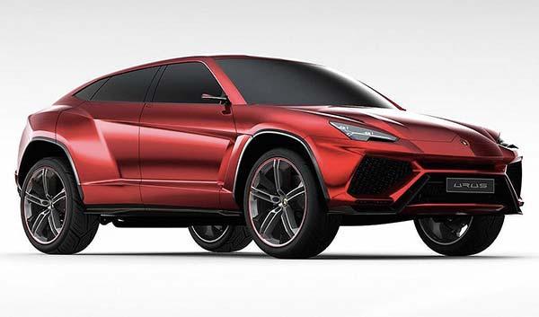 Luxe voitures électriques  Lamborghini Urus