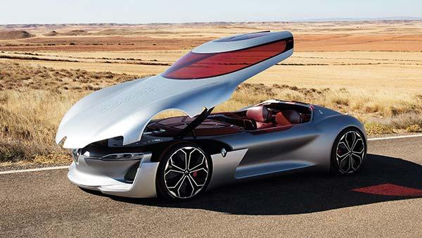 Luxe voitures électriques  Trezor Renault
