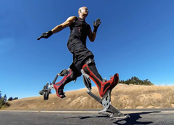 tendances futurs exosquelette bionic boots
