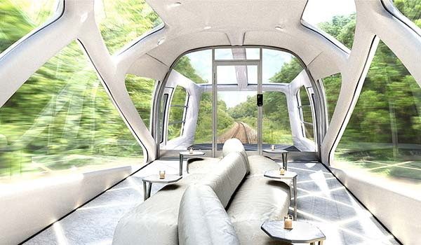 tendances luxe train Shikishima