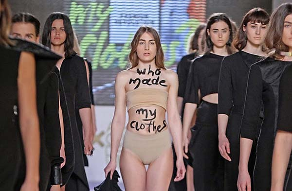 tendances mode fashion revolution week Athena Korda