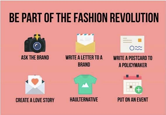 tendances mode fashion revolution week Insta
