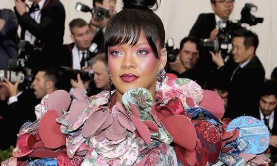 tendances beauté MET Rihanna