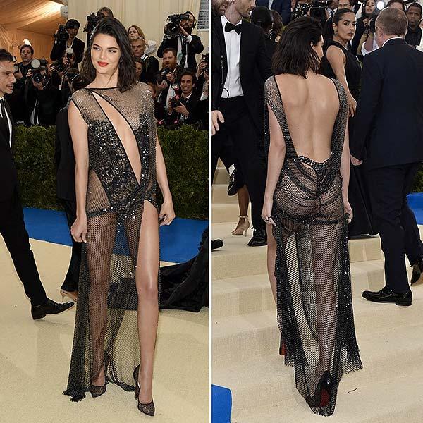 tendances beauté MET Kendall Jenner