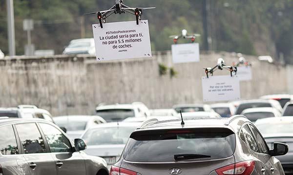 tendances futurs drones créatifs Uber