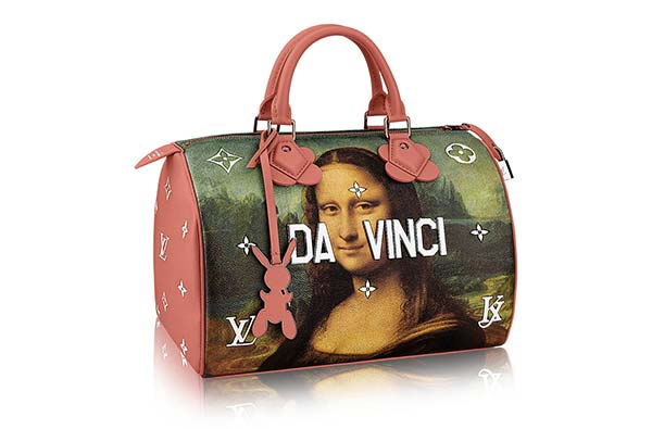 tendances art luxe koons louis vuitton la joconde