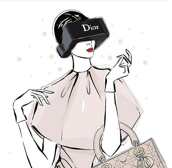 tendances luxe réalité virtuelle Dior