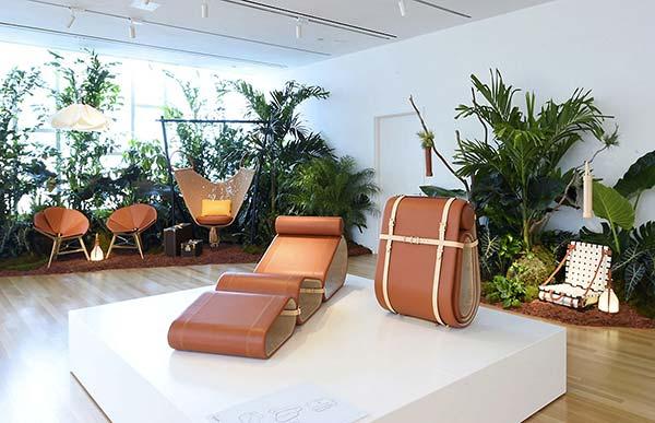 tendances design peau cuir Vuitton