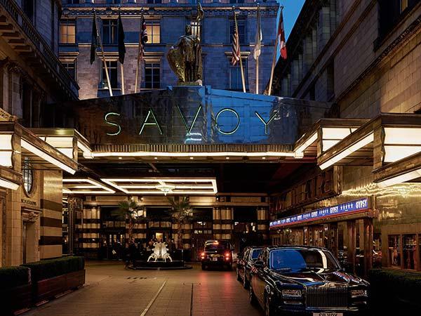 Le Savoy à Londres.