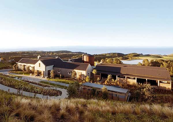 tendances luxe farm hotels Cape Kidnappers