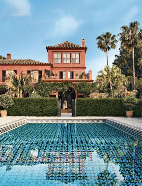 tendances design piscine Peregalli