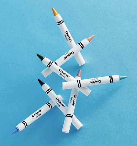 packaging beauté Crayola x Asos
