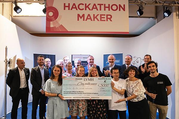 Les gagnantes du prix Hackaton.