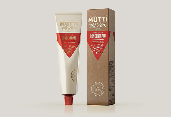 Mutti packaging