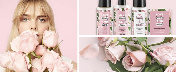 Love Beauty And Planet, la marque premium d'Unilever.