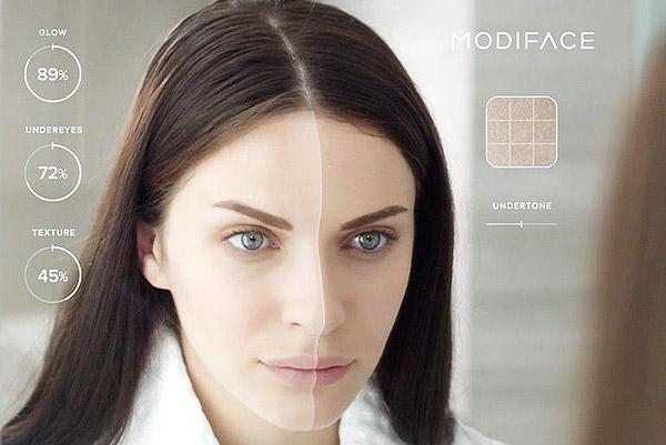 Le Modiface de l'Oréal.