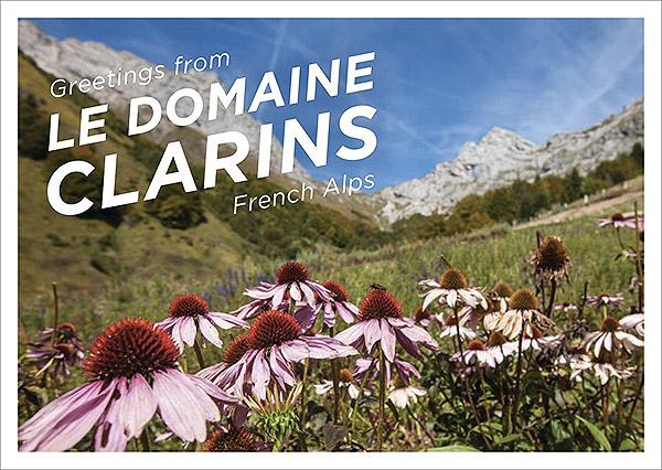 Le Domaine Clarins tout là-haut dans la montagne.