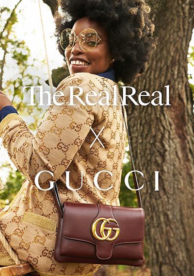 La collab The RealReal avec Gucci.