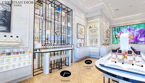Virée shopping chez Dior Parfum.