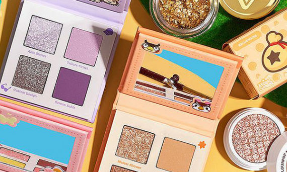 Animal Crossing x ColourPop, attention les yeux.