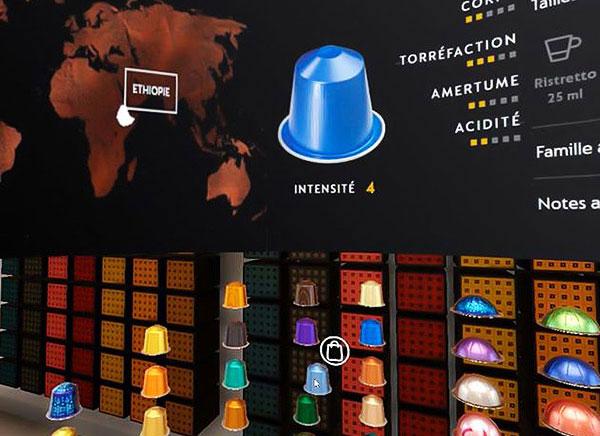 Nespresso chez Virtual VR.