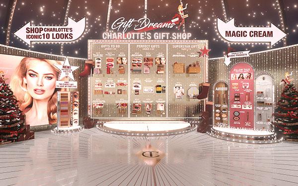 Le virtual store de Charlotte Tilbury.