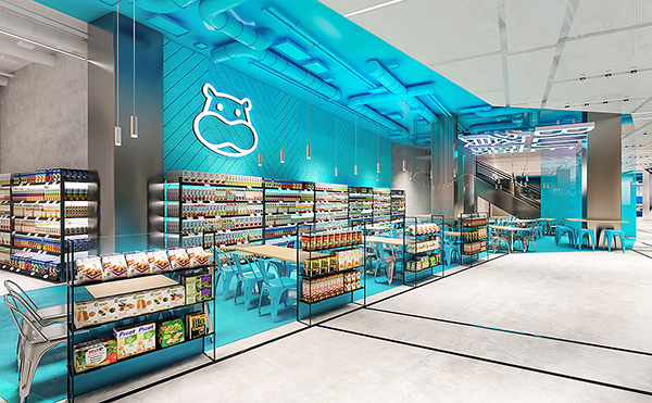 Objectif d'Hema en Chine: que les clients ne se rendent plus qu'une fois sur dix en magasin.