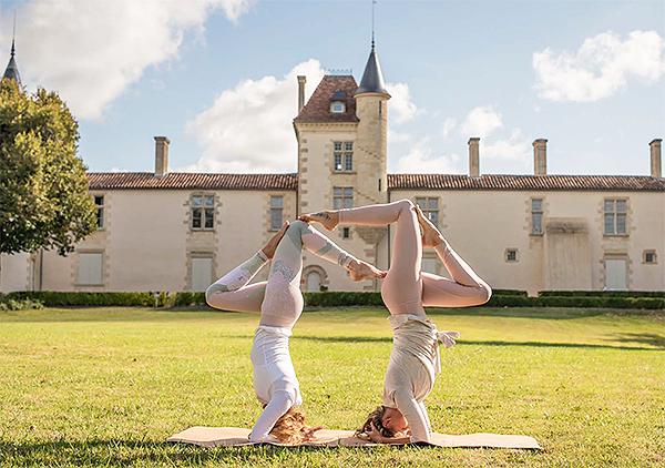 Le Holidermie way of life au château de Malromé dans le bordelais.